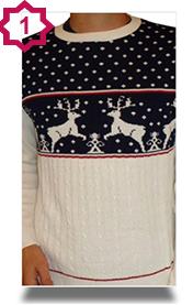 Novelty Xmas Jumpers - Reindeer