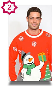 novelty Xmas Jumpers - snowman