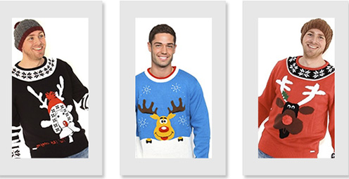 Novelty Xmas Jumpers for men