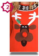 Novelty Christmas Jumpers - Reindeer