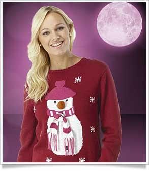 snowman 3d jumper