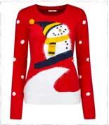 joe-brown-red-snowman-jumper