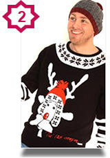 Men's Cheesy Xmas Jumper