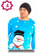 Frosty the Snowman novelty Christmas jumper