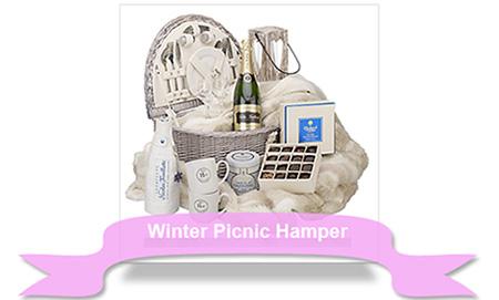 Xmas Winter Picnic Hamper