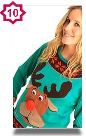 Cheeky reindeer sweater
