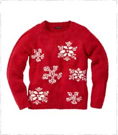 Joe-brown-red-snowflake-jumper
