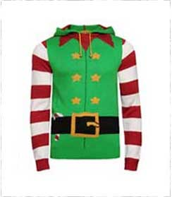 Santa's elf jumper